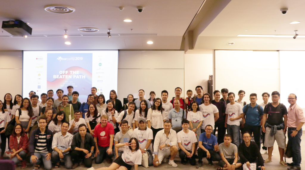 Barcamp Saigon 2019 Team