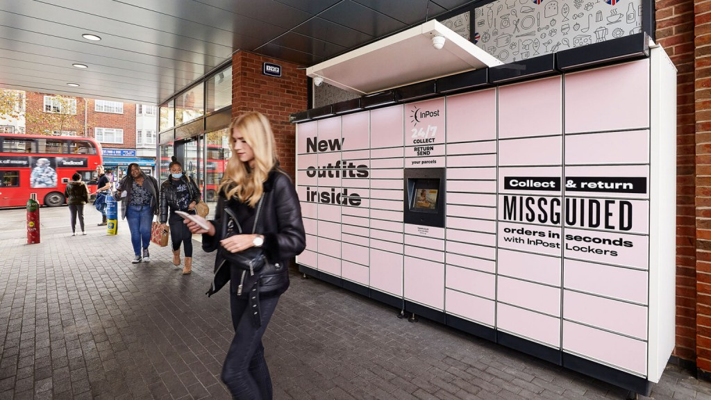 Missguided InPost Parcel Lockers