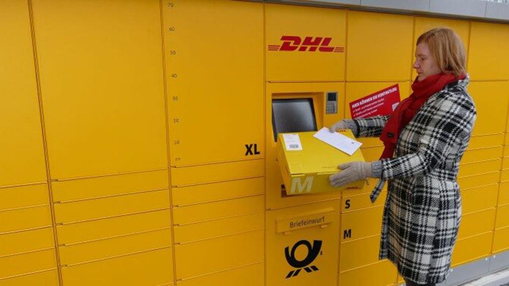 DHL Parcel Machines