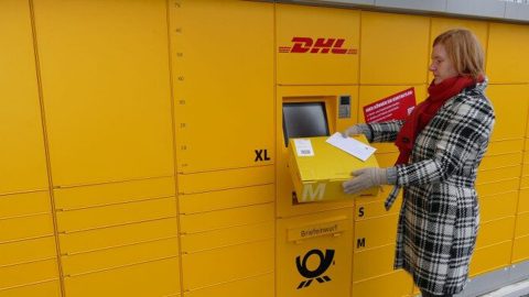 DHL Parcel Machines