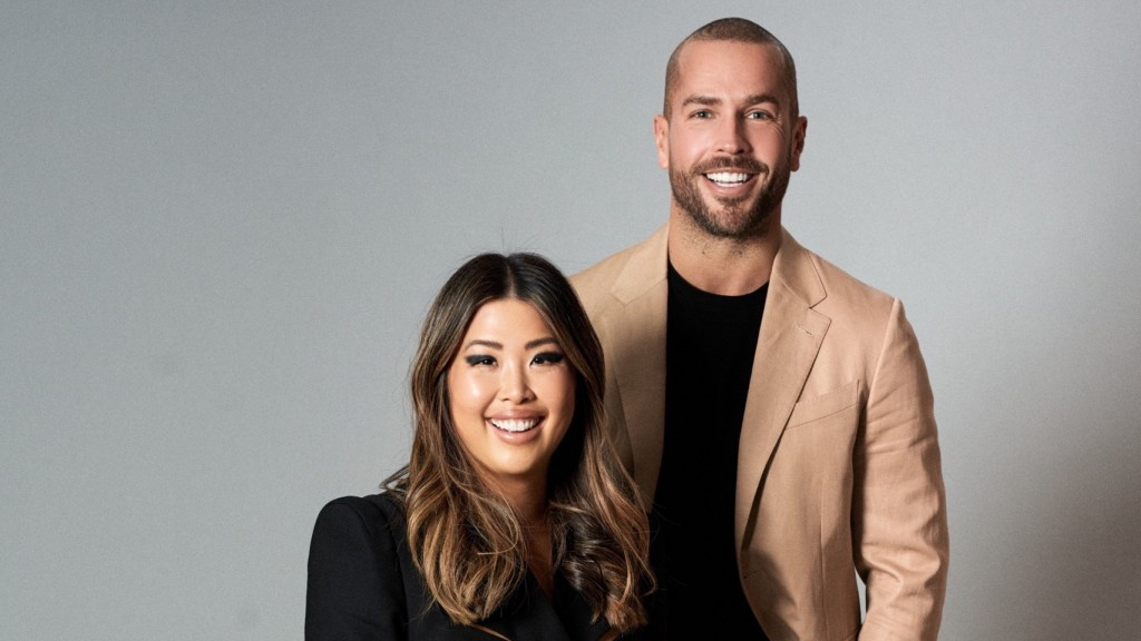 Lisnic founders, Nick Bell and Lisa Teh