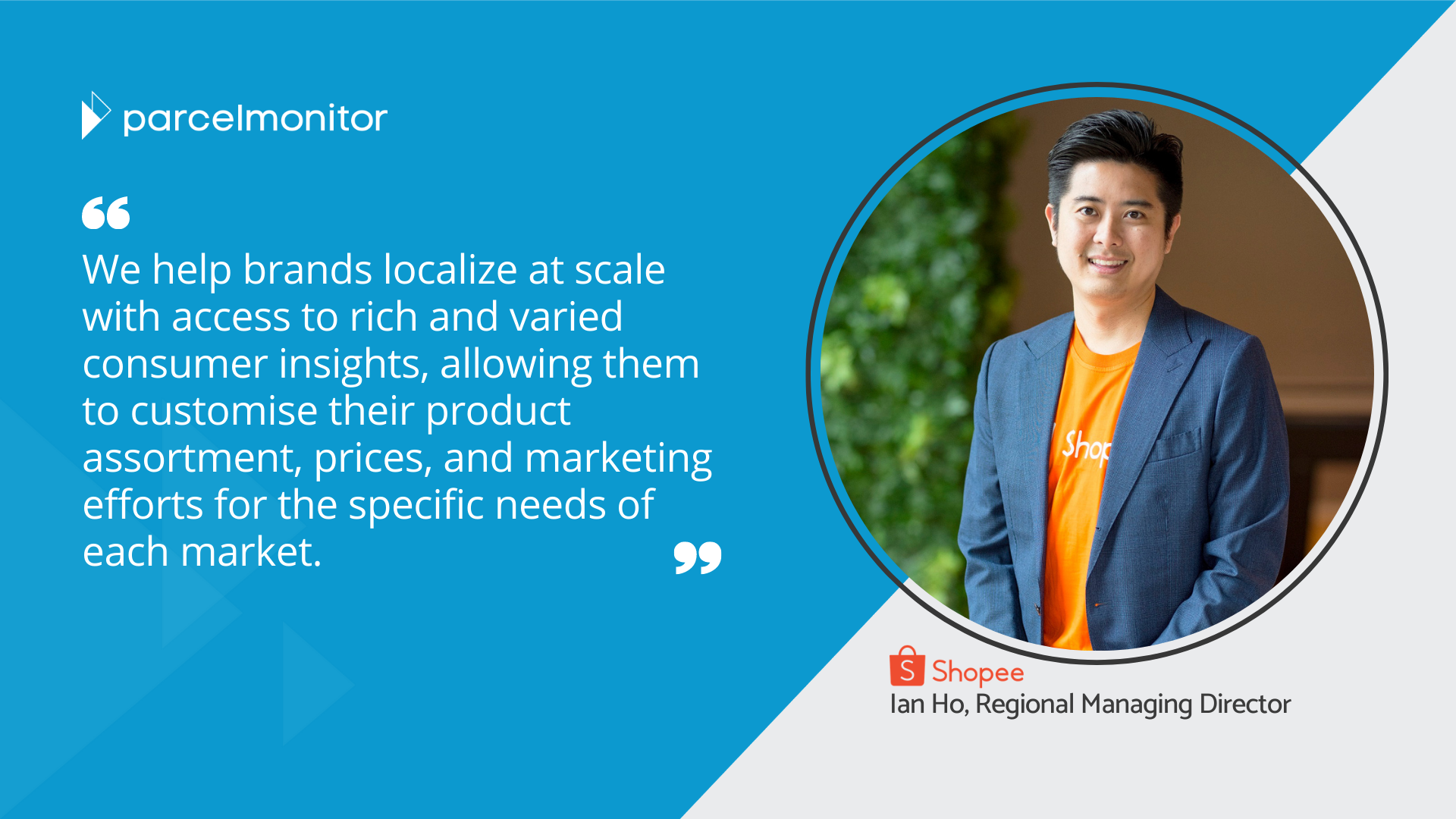 Shopee Interview - Social media quote