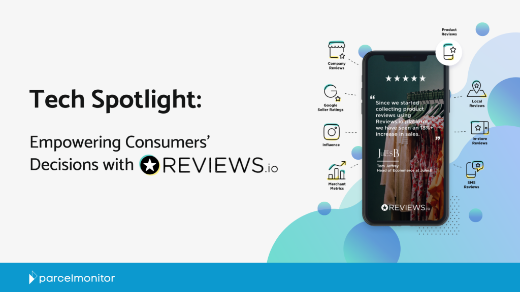 Parcel Monitor Tech Spotlight Empowering Consumers' Decisions with REVIEWS.io