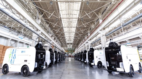 Alibaba's Driverless Robots Hit 1 Million E-Commerce Deliveries
